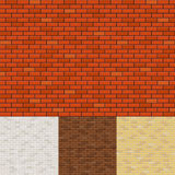Brick wall backgrounds Royalty Free Stock Photos