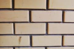 Brick wall on the balkony
