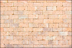 Brick wall. Beautiful design on the brick wall Stock Images