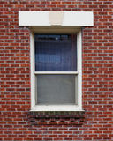 Brick wall beige stucco top Royalty Free Stock Images