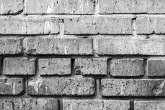 Brick wall. Black and white brick wall royalty free stock photo
