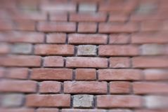 Brick Wall Blurred Stock Photos