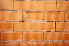 Brick wall of bricks Stock Photos