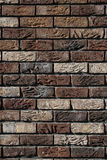 Brick wall brown Stock Photography