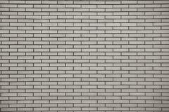 Brick wall, built of flat bricks Stock Image
