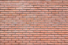 Brick wall with cement joints Stock Image