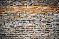Rustic old background. Brick wall and cement rustic old background royalty free stock photo