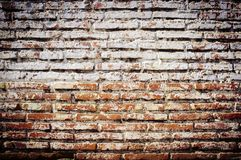 Rustic old background. Brick wall and cement rustic old background royalty free stock image