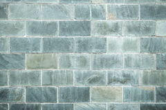 Brick wall. Chinese type green color brick wall Stock Photos