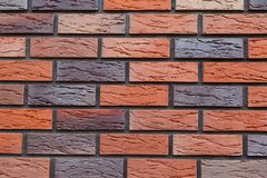 Brick wall close-up Royalty Free Stock Photo