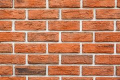 Brick wall close-up Stock Photography