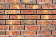 Brick wall close-up Stock Photo