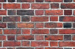 Brick wall close up Royalty Free Stock Images