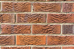 Brick Wall Close up detail Royalty Free Stock Photos