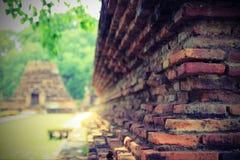 Brick wall. Close up of old brick wall stock photography