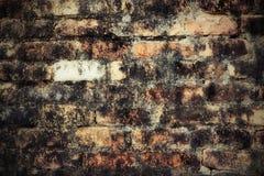 Brick wall. Close up of old brick wall texture stock photo