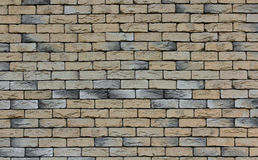 Brick Wall. Close up photo of a brick wall to use as a background pattern or texture Stock Images