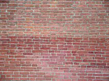 Brick wall close up. Wall from a red brick close up Stock Photography