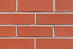 Brick Wall. Close Up Red Brick Wall Background Royalty Free Stock Images