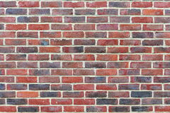 Brick Wall. Close-up View of a Red Brick Building Wall Exterior Background Royalty Free Stock Images