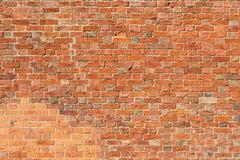 Brick wall closeup Stock Photography