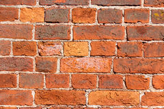 Brick wall. Color brick wall for background Royalty Free Stock Photo