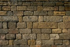 Brick wall color background red texture Royalty Free Stock Images
