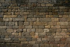 Brick wall color background red texture old pattern construction Royalty Free Stock Photo