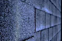 Brick Wall Color Stock Images