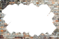 Brick wall with copy space Royalty Free Stock Images