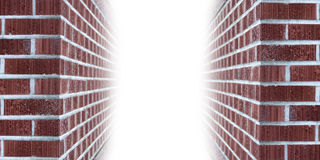 Brick wall copyspace Stock Photo