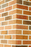 Brick wall corner Royalty Free Stock Images