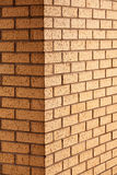 Brick wall corner Royalty Free Stock Image