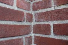 Brick wall corner Royalty Free Stock Photo