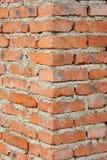 Brick wall corner Stock Photo