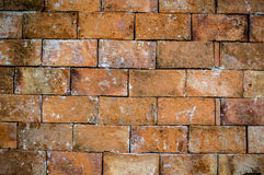 Brick wall. Cracked texture rusty Royalty Free Stock Image