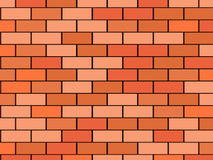 Brick Wall. 3D image of blank brick wall background Royalty Free Stock Image