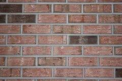 Brick wall with dark bricks Stock Photos