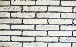 Brick wall design as mortar background texture Stock Photography