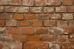 Brick wall detail Royalty Free Stock Photography