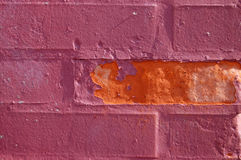 Brick Wall Detail Stock Image