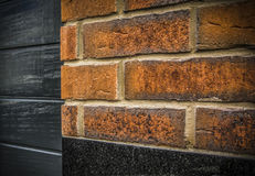 A Brick Wall. A detail of a brick wall Royalty Free Stock Photography