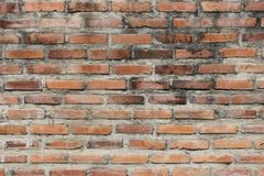 Brick wall dirty royalty free stock photography