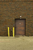 Brick Wall and Door Royalty Free Stock Images