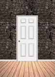Brick Wall Doorway Stock Photo