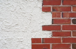 Brick wall edge Royalty Free Stock Photos