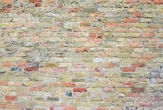 Brick wall facade on building Stock Image