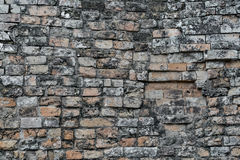 Brick Wall Facade Stock Images