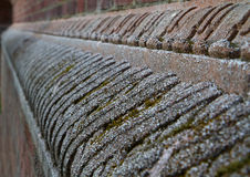 Brick wall feature Royalty Free Stock Photos
