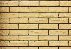 Brick wall of the fence building, Royalty Free Stock Photos